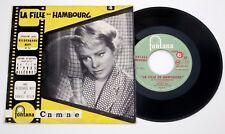 B.O. LA FILLE DE HAMBOURG AVEC HILDEGARDE NEFF 45t FONTANA 460.583 ME