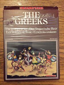 HO SCALE Atlantic Set 1511 The Greeks: The TROYAN ARMY (96) Figures