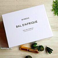 Byredo Bal D'Afrique Eau De Parfum 3.3 Fl Oz./100 ml. New Box Sale and GIFT