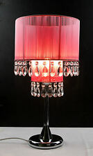 Cafe Lighting - Diva Table Lamp - Pink JYC111C