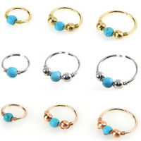 Fashion Nose Ring Turquoise Nostril Hoop Nose Earring Piercing Jewelry Gift