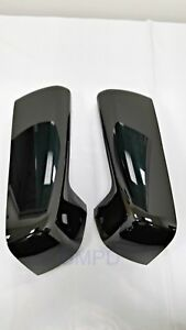2019-2020 New Gen.Silverado Sierra GM Gloss Black Outside Mirror Caps 84328136
