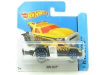 Hotwheels Repo Duty Yellow Black 1/250 Short Card 1 64 Scale Sealed