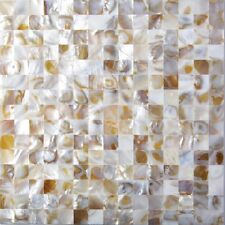 Natural Varied Seamless Mother of Pearl Tile Shell Mosaic For Bathroom/Kitchen