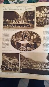 1924 Illustrierte 23 Narzissenfest Montreux / Amundsen Arktis Flug / Beromünster