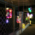 LED Fairy Light Solar Mason Jar Lid Lights Color Changing Garden Decor 2017