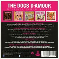 THE DOGS D'AMOUR - ORIGINAL ALBUM SERIES  5 CD NEU