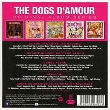 The DOGS D'AMOUR-ORIGINAL ALBUM SERIES 5 CD NUOVO