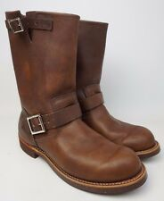 """Red Wing Heritage 11"""" Engineer Boot Amber Harness Brown 2991 Size 9 D"""