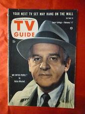 Oregon ed. February 1 1958 TV Guide WINCHELL Jerry Mathers Beaver BETTY WHITE