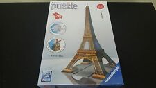 Ravensburger 3d Puzzle Eiffle Tower 216 Pieces Brand New 17.3 Inches Tall