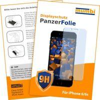 mumbi Panzerfolie für Apple iPhone 6 6s Folie Schutzfolie Displayschutzfolie