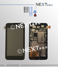 Schermo Display Touch screen vetro Nokia Lumia 530 + cornice + kit riparazione