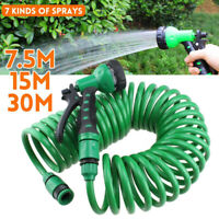 With Spray Gun Retractable Garden Supplies Water Hose Coil Hose Irrigation