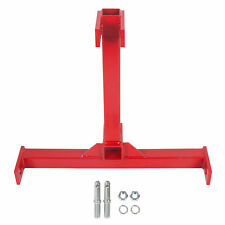 Premium Category 1 Drawbar Tractor Trailer Hitch 2 Receiver 3 Point Attachment