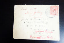 Great Britain Wwi Soldiers Mail 1915 Cover w/ Stamp Vf