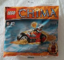 LEGO ® Legends of Chima ™ 30265 Worriz 'Fire BIKE PROMO Set NUOVO & OVP NEW SEALED