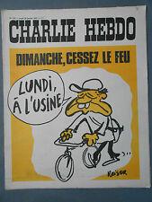 ►CHARLIE HEBDO N°115 - JANVIER 1973 - REISER