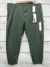 Dockers Alpha Jogger Mens 38X28 Slouch Tapered Stretch Khaki Pants New Mis Tag