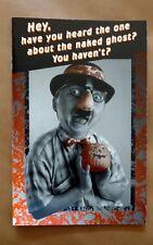 Vintage American Greetings Halloween Card & Envelope - Naked Ghost Humor -Unused