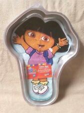 Wilton DORA THE EXPLORER CAKE PAN Mold Tin 2105-6300 w/ Insert Girl VGC