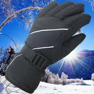 Mens Ladies Unisex Thermal Ski Snowboard Gloves Waterproof Winter Snow Sports