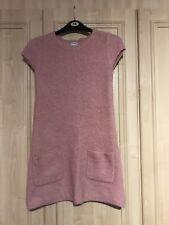 Girls Two-Piece Layered Dress Pink Next Aged 12