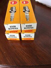 4 X NGK COPPER NICKEL SPARK PLUGS BCPR7ES 3330