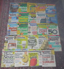 Consumer Reports back issue collection: Focus On Finances (24 issues)