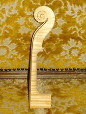 Tonholz, Tonewood, super geflammter Hals für Geige, carved violin neck