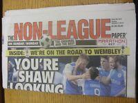 04/10/2015 The Non-League Paper: Issue No 810. Footy Progs/Bobfrankandelvis, exp