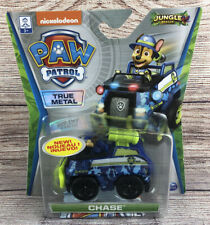 Paw Patrol True Metal Jungle Rescue Chase Police Cruiser Vehicle - NEW