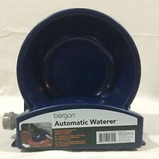 Bergan Automatic Waterer Pet Water Dish, Connects to Garden Hose, No Overflow