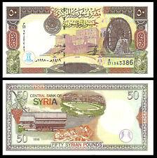 SYRIA 50 POUNDS 1998 P-107 UNC