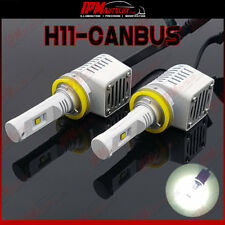 H11 53110HU CANBUS LED Kit Set Xenon Look White Lights Fog Lamp Front Bulbs