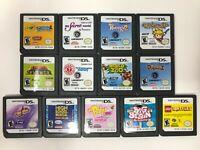 Lot of 13 Nintendo DS Games - LEGO, Scribblenauts, Petz, Big Brain, Waldo, MORE