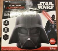 Star Wars Darth Vader Ultrasonic Cool Mist Humidifier Anti Mold Mildew Quiet