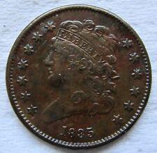 1835 1/2C Classic Head Half Cent Sharp Example