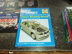 4782 BMW 3 SERIES 2005-2008 HAYNES WORKSHOP MANUAL NEW SEALED