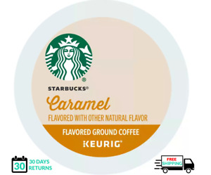 Starbucks Caramel Coffee Keurig K-cups YOU PICK THE SIZE