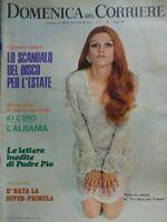 DOMENICA DEL CORRIERE N.18 1969 MILVA