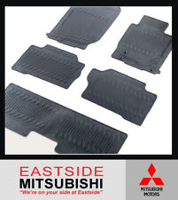 NEW GENUINE MITSUBISHI QE PAJERO SPORT RUBBER FLOOR MATS FOR 7 SEAT ONLY