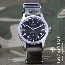 1940's VERTEX Swiss Dirty Dozen WWW MOD WW2 Vintage Military Watch Revue Cal. 59