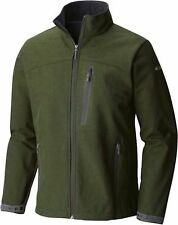 Columbia Men's LUCKY FIND II Softshell Jacket SIZE LARGE L NEW NWT GREEN GREY