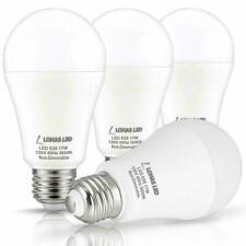 NEW LOHAS A19 LED Lights 17Watt 150Watt Equivalent LED Bulb Daylight 5000k 4PK