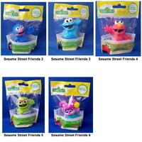 Sesame Street Mini Figurine Toy or Cake Topper 2.5 inch - You Choose Character