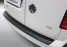 BLACK RGM REAR GUARD BUMPER PAINT SCUFF PROTECTOR VW CADDY / MAXI 6.15> RBP848