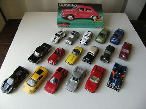 Lot voitures miniatures bon état