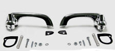 NEW! 1969-1970 Mustang Outside Door Handles Pads Hardware Chrome Brand New