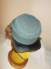 Civil War Replica Reenactment Confederated Enlisted Kepi Hat  Size 6 5/8